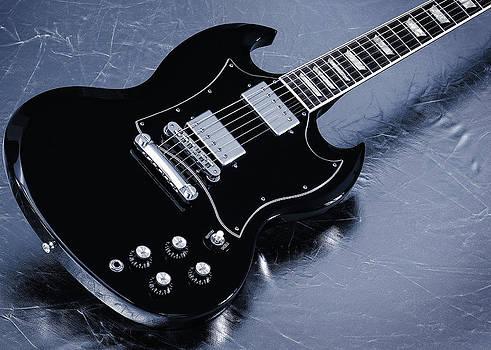 John Cardamone - Gibson SG Standard Blue
