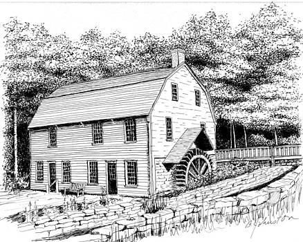 Gilbert Stuart Homestead by Beth Johnston