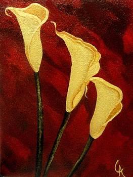 Gilded Lilies by Carol Avants