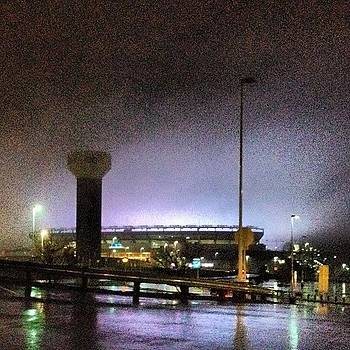 @gillettestadium Looks Insane Right Now by Tom Thibeault
