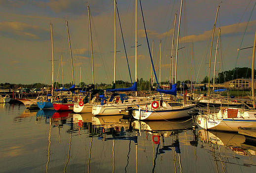 Gimli Harbour by Larry Trupp