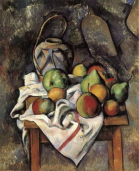 Paul Cezanne - Ginger Jar and Fruit