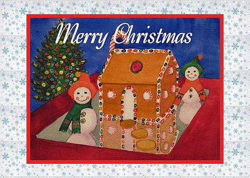 Ruth Soller - Gingerbread and Snowmen card