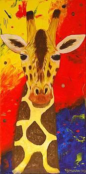 Giraffe by Frank Middleton
