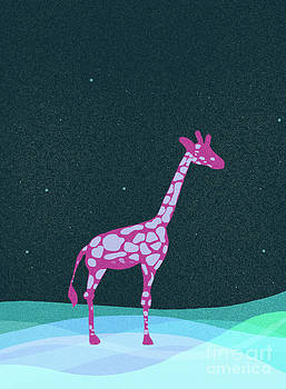 Giraffe by Kristin Hodges