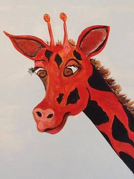 Giraffe by Melanie Wadman
