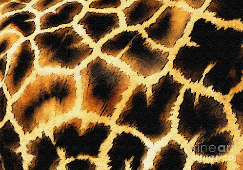Giraffe. Photo With Texture by Ausra Huntington nee Paulauskaite