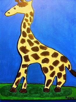 Giraffe by Fred Hanna