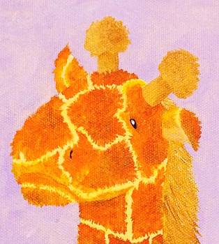 Giraffe by Stefanie Beauregard