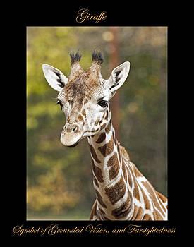 Giraffe Symbol of by Marty Maynard