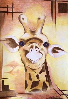 Giraffe  by Victoria Dimitrova