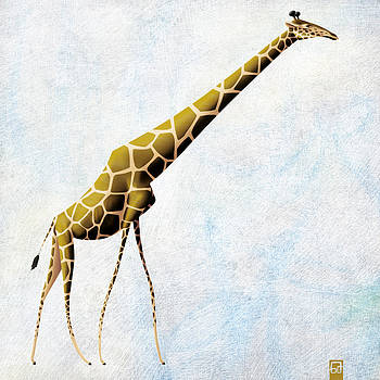 Giraffe walking by Gorka Aranburu