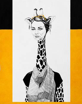 Giraffe by Zuzana Vass
