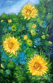 Girassois/ Sunflowers by Fernanda Cruz
