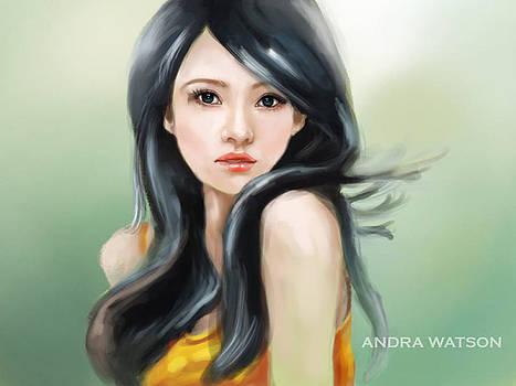 Girl  by Andra Watson