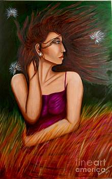 Girl in Wind by Saranya Haridasan