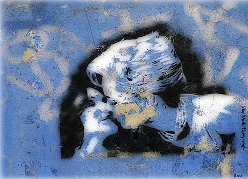 Girl Kiss by JoAnn Lense