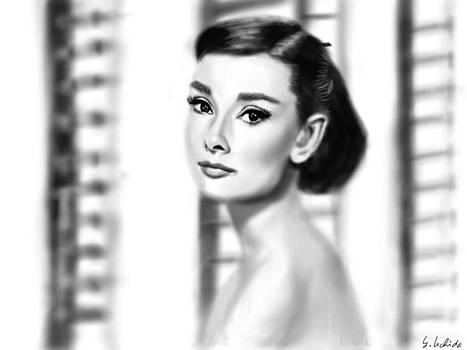 Girl No.166 Audrey Hepburn by Yoshiyuki Uchida