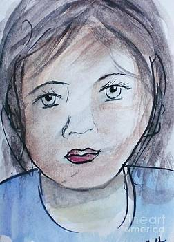Girl Portrait 4 by Trilby Cole