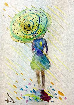 Patricia Lazaro - Girl with Umbrella