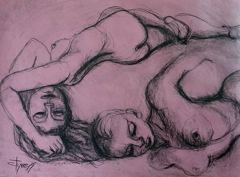Girls Dreaming by Carmen Tyrrell