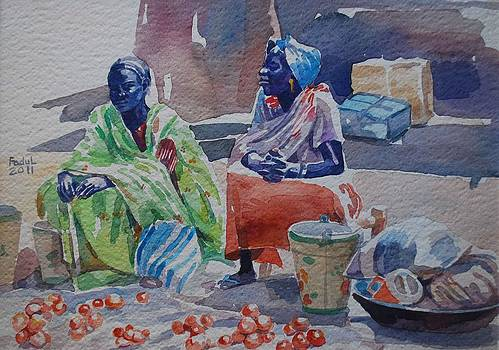 Girls sellers by Mohamed Fadul