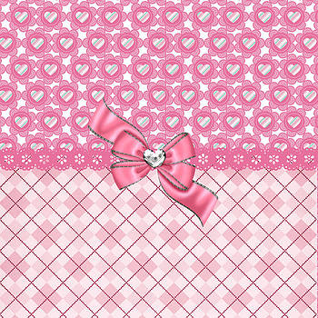 DMiller - Girly Pink Hearts and Argyle