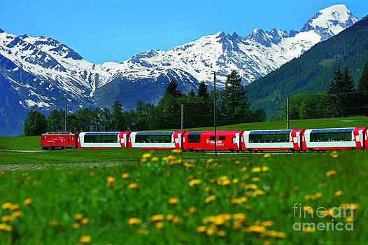 Glacier Express Switzerland to France by Brian Joseph