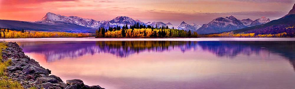 Glacier Fall Awakening by David  Forster