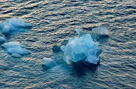 Glacier ice by Alex Kossov
