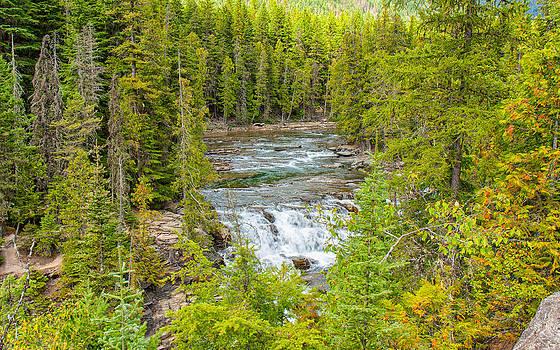 Glacier National Park Splendor by John M Bailey