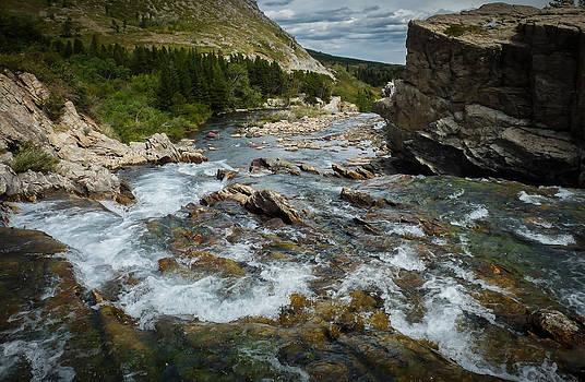 McDonald Creek Glacier Park by Susan Hamilton