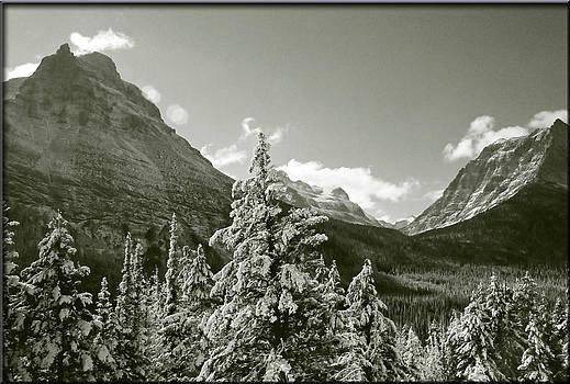 Glacier Peaks by Jens Larsen