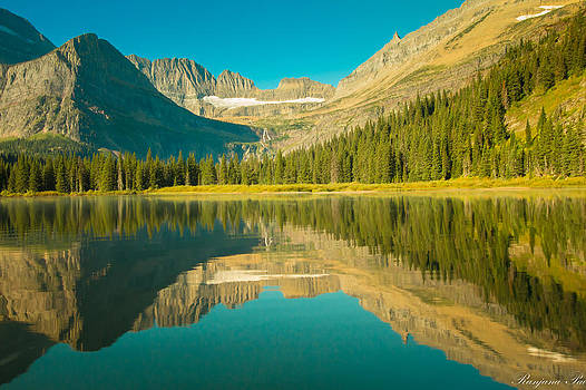 Glacier Reflections by Ranjana Pai