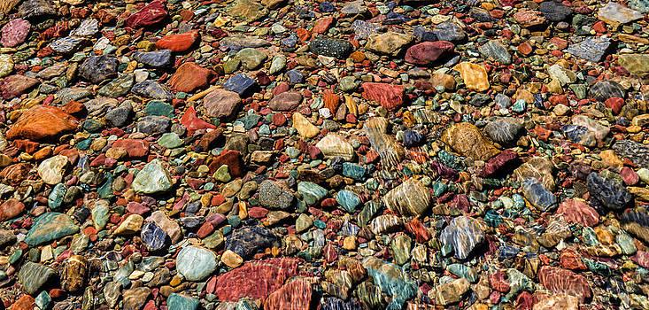 Glacier Rocks  by David  Forster