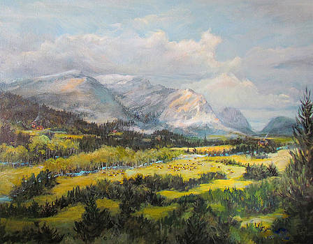 Glacier Splendor by Donna Tucker