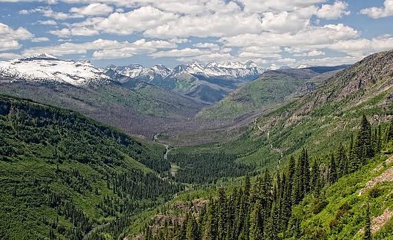 Glacier Valley by Alina Marin-Bliach
