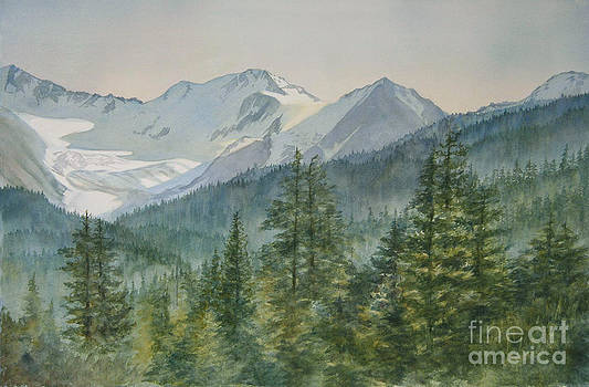 Sharon Freeman - Glacier Valley Morning Sky