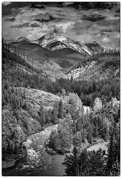 Glacier Vista by Johan Elzenga