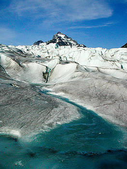 Glacier water by G Matthew Laughton