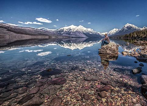 Glacier Zen by Aaron Aldrich