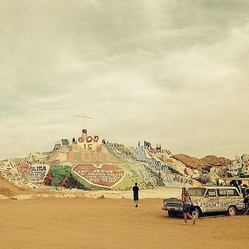 Glad I Saw It #salvationmountain ::: by Tifanie Chaney
