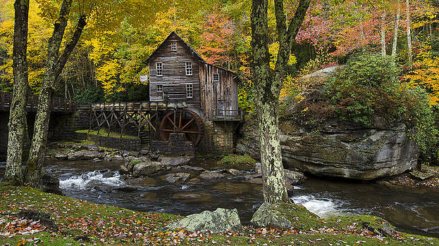Glade Creek Grist Mill by Michael Donahue