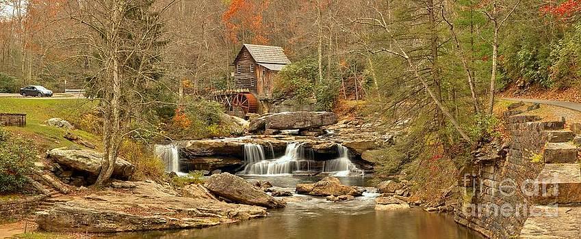 Adam Jewell - Glade Creek Grist Mill Panorama