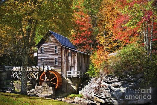 Glade Creek Mill by T Lowry Wilson