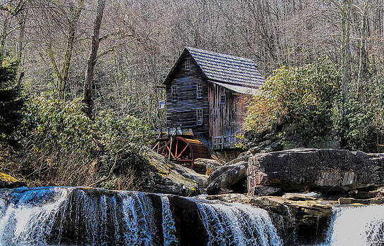 Glade Spring Grist Mill by Beckie Fitgerald
