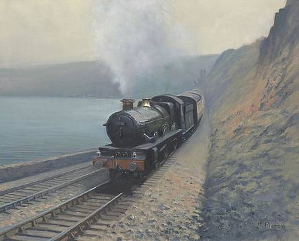 Gladiator at Teignmouth by Richard Picton