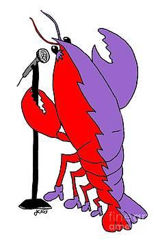 Julie Knapp - Glam Rock Lobster or Harleguin Lobster