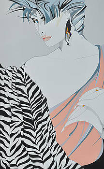 Glamorous Lady by Pop Art by EH