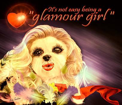 Glamour Girl-1 by Kathy Tarochione